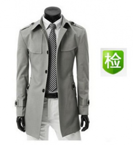 men's clothing, gray blazer