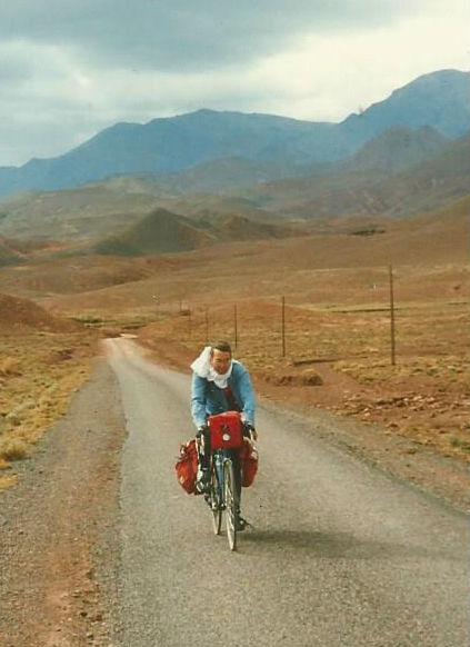 Morocco bicycling tour Michael Zack