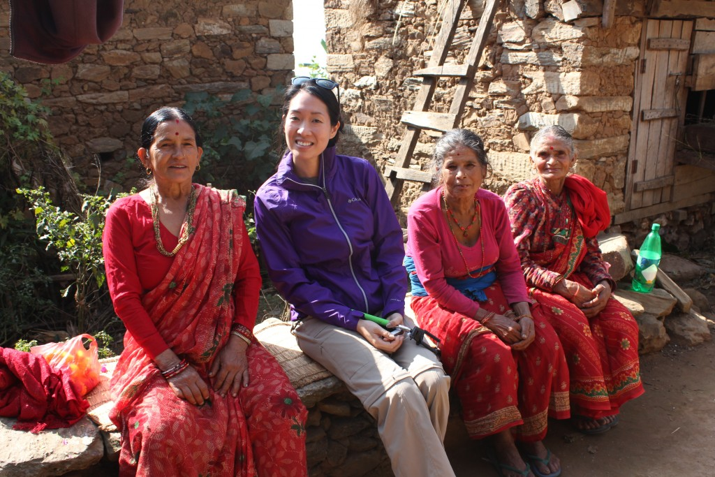 Nepal Volunteer Lending Promise Alicia Forbrich