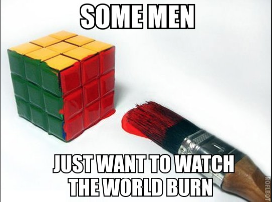 Photo Credit: Knowyourmeme.com Rubix cube Batman Joker reference