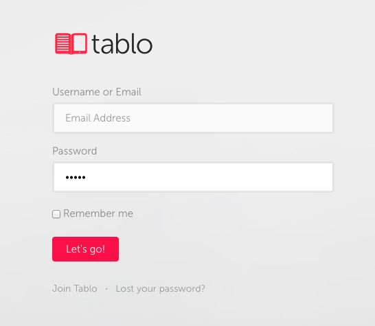 Tabl.io self publishing