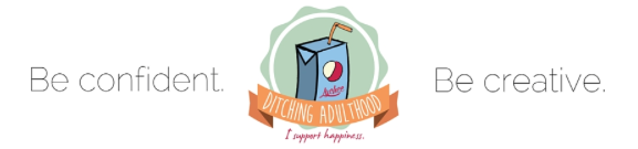 Ditching Adulthood logo Cierra Mercier