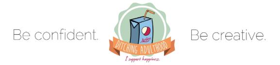 Ditching Adulthood logo Cierra Mercier